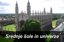 Srednje šole in univerze